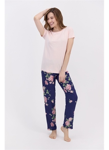 Arnetta Pijama Takım Pembe